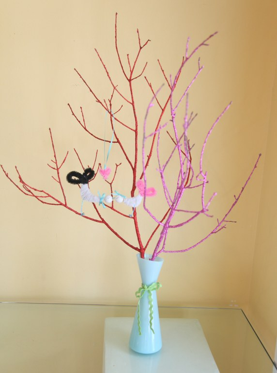 love birds tree 2 14 Days of Love  Glitter Branches/ Lovebird Tree