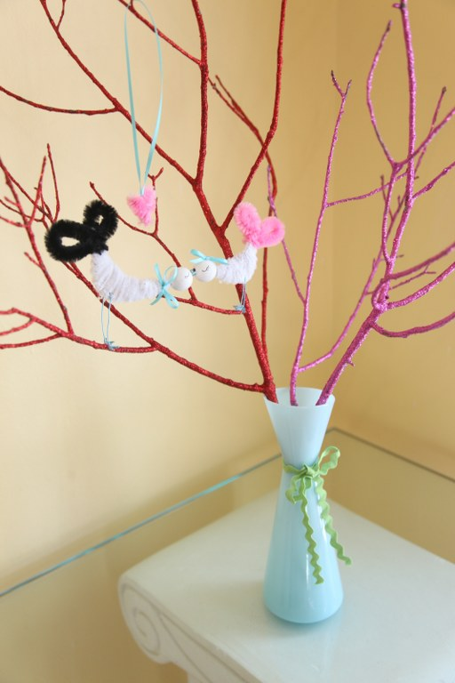 love birds tree 3 14 Days of Love  Glitter Branches/ Lovebird Tree