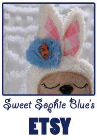 Sweet Sophie Blue on Etsy
